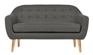 MyCreationDesign - norma gris - Sofa 2 Sitzer