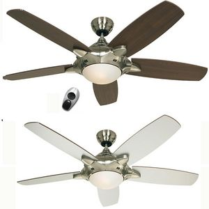 Casafan - ventilateur de plafond mercury, moderne 132 cm chr - Deckenventilator