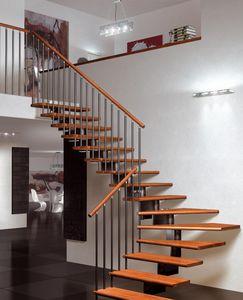 SK-SYSTEME - nika sc  - Viertelgewendelte Treppe