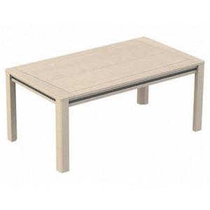 Girardeau - table bois macao - Rechteckiger Esstisch