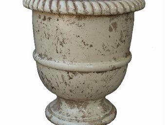 TERRES D'ALBINE - vase languedocien.. - Garten Blumentopf