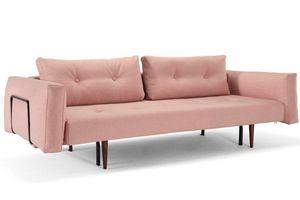 INNOVATION - canapé convertible lit recast plus rouge corail 20 - Bettsofa
