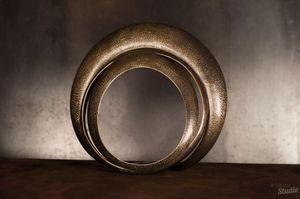 ELIE HIRSCH - cerclé - Skulptur
