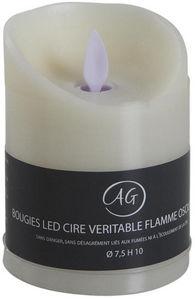 Aubry-Gaspard - bougie à leds parfum vanille -
