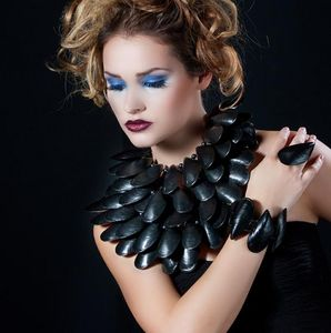 INEKE OTTE - collection mussel - Armband