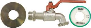 BOUTTE - kit adaptateur de cuve 1000l avec robinet 1/4 tour - Gartenwasserhahn