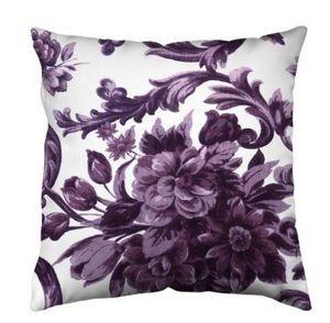 MARIAFLORA - malva lilla - Kissen Quadratisch