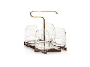 FFERRONE DESIGN - rare presenter set - Whiskyglas