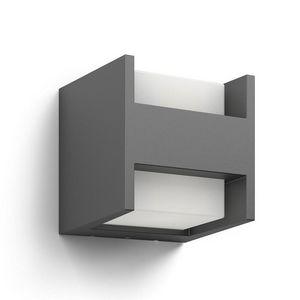 Philips - applique extérieur carré arbour ip44 led h13 cm - Garten Wandleuchte