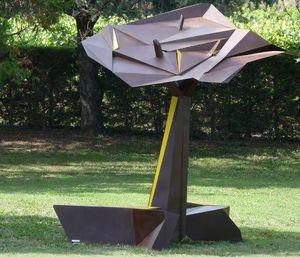 GUILLAUME DUROST - l'arbre kiosque - Skulptur