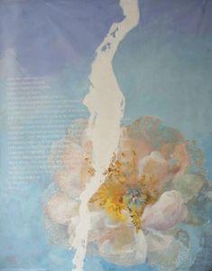 Fabienne Colin - ne me regarde pas - Zeitgenössische Gemälde