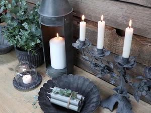 CHIC ANTIQUE - fer - Kerzenständer