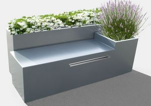 IMAGE'IN by ATELIER SO GREEN -  - Blumenkübel Mit Bank