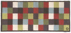 HUG RUG - tapis en fibres naturelles à carreaux 65x150 cm 65 - Fussmatte