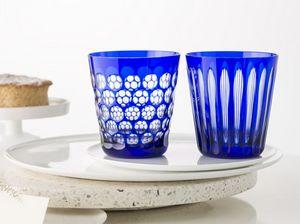 Rotter Glas - kugelbecher and spulen - Glas