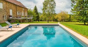 Aquilus Piscines - bora 120 - Traditioneller Swimmingpool