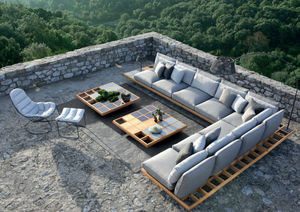 Royal Botania - mozaix lounge set - Gartensofa
