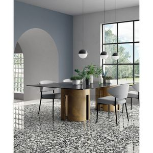 CasaLux Home Design - carrelage grès cérame effet terrazzo poli shards - Bodenfliese, Sandstein