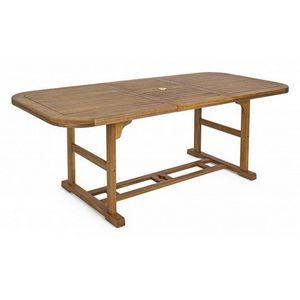 PEGANE - table de repas ovale 1409029 - Ovaler Esstisch