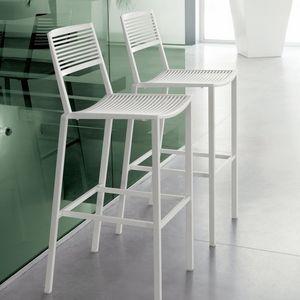 FAST - easy - tabouret de bar en aluminium blanc - Barstuhl