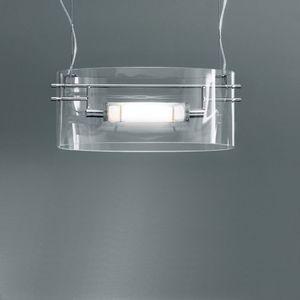 Leucos - vittoria - suspension verre soufflé 34 cm - Deckenlampe Hängelampe