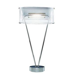 Leucos - vittoria - lampe de table en verre soufflé - Tischlampen