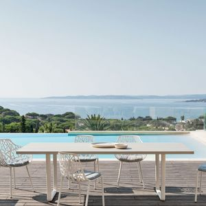 FAST - orizon - table en aluminium 250 x 90 cm - Gartentisch