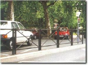 Jarco -  - Parkplatz Absperrung