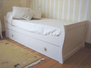 GRIS ALBA DECORACION -  - Kinder Schubladen Bett
