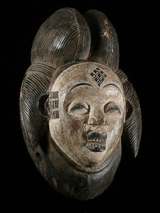 Les Arts Primitifs - punu - Maske Aus Afrika