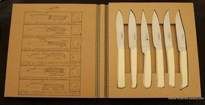 Fontenille Pataud - lames de france - Steak Messer
