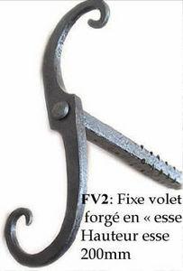 Les Forges De Signa -  - Sperrriegel Für Fensterläden