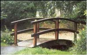 Sge Bois -   - Garten Brücke