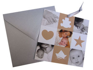 LOUPIOTS DESIGN - faire-part little photo - Geburtsmitteilung