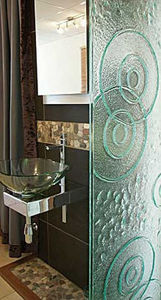 Hot Glass Design - shower screen - Duschwand
