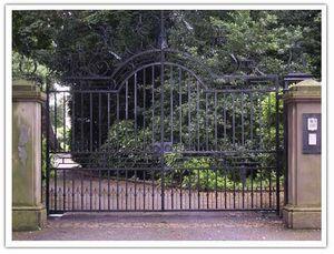 Peter Weldon Iron Designs -  - Gartentor