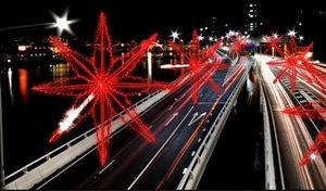 Milleluci - starfly snow - Straßenbeleuchtung