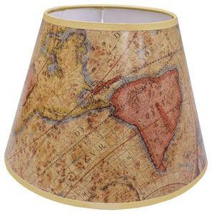 The Original Book Works - world map shade l0501  - Lampenschirm