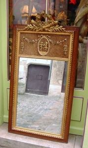Art & Antiques - trumeau louis xvi xixe - Trumeauspiegel