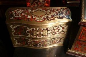 Art & Antiques - coffret à senteur en marqueterie boulle xixe - Parfumset