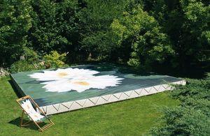 Tiki concept -  - Personalisierte Pool Abdeckung