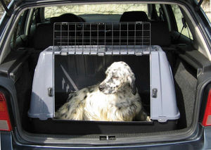 ZOLUX - grand cage de transport pour grand chien 88x51x58c - Außenkäfig