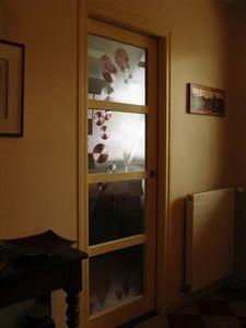 Florent Boissonnet-Glasswork -  - Eingangsglastür