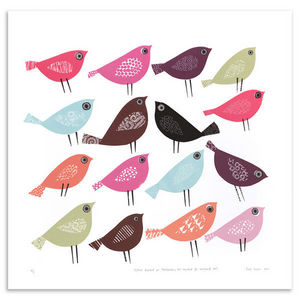 JANE ORMES -  - Serigrafie