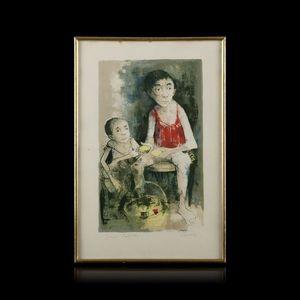 Expertissim - jansem. lithographie en couleurs - Kunstdruck