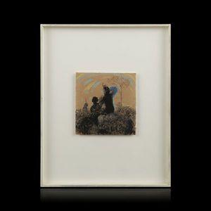 Expertissim - bernard guillot. sans titre, 1984 - Pastell