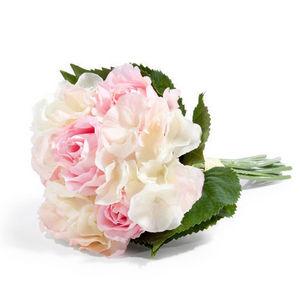 Maisons du monde - bouquet hortensia rose - Kunstblume