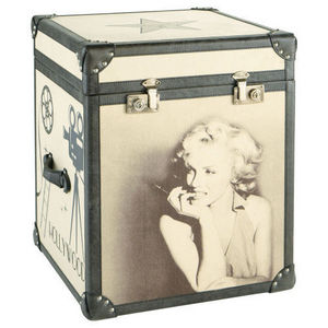Maisons du monde - malle marilyn celebrity - Kofferschrank