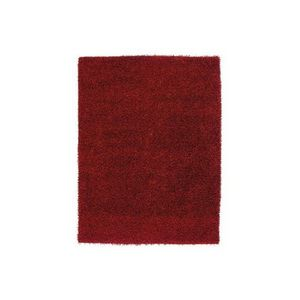 LUSOTUFO - tapis design lumy bordeaux - Shaggy Teppich