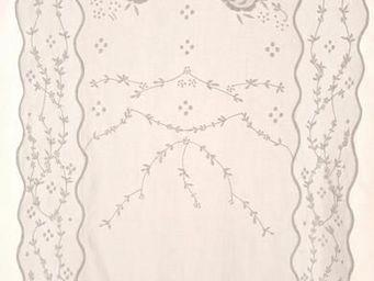 Coquecigrues - brise-bise volupté blanc - Kurzgardine